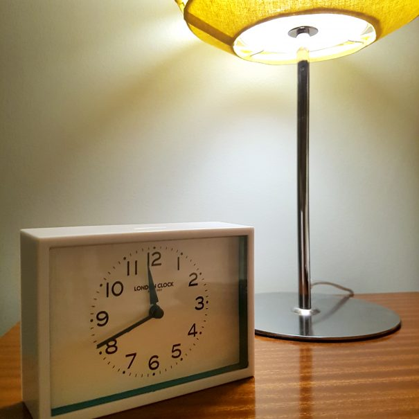 Silver Birch room - alarm clock
