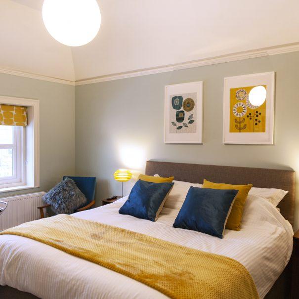 Silver Birch room - bed